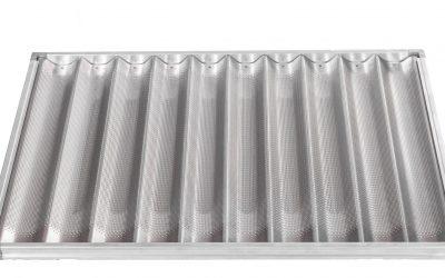 Teglie in Alluminio forato con Telaio Piane